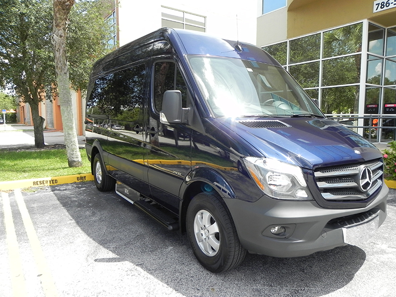 Mercedes benz sprinter mobility conversions in miami for Mercedes benz sprinter conversion